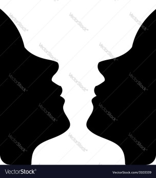faces-or-vase-of-two-faces-like-a-vase-vector-3103339