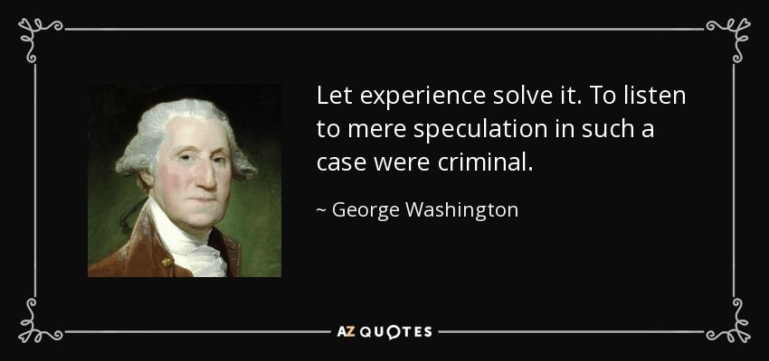 Washington_Let_experience_solve_it