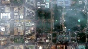 Image: gisuser.com/2020/06/satellite-imagery-washington-dc-and-black-lives-matter-street-mural/